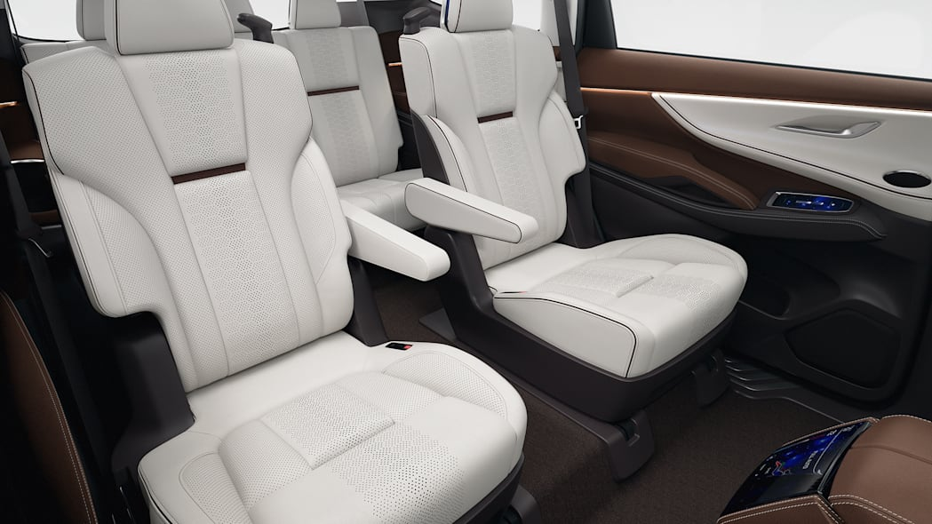 Subaru Ascent captains chairs