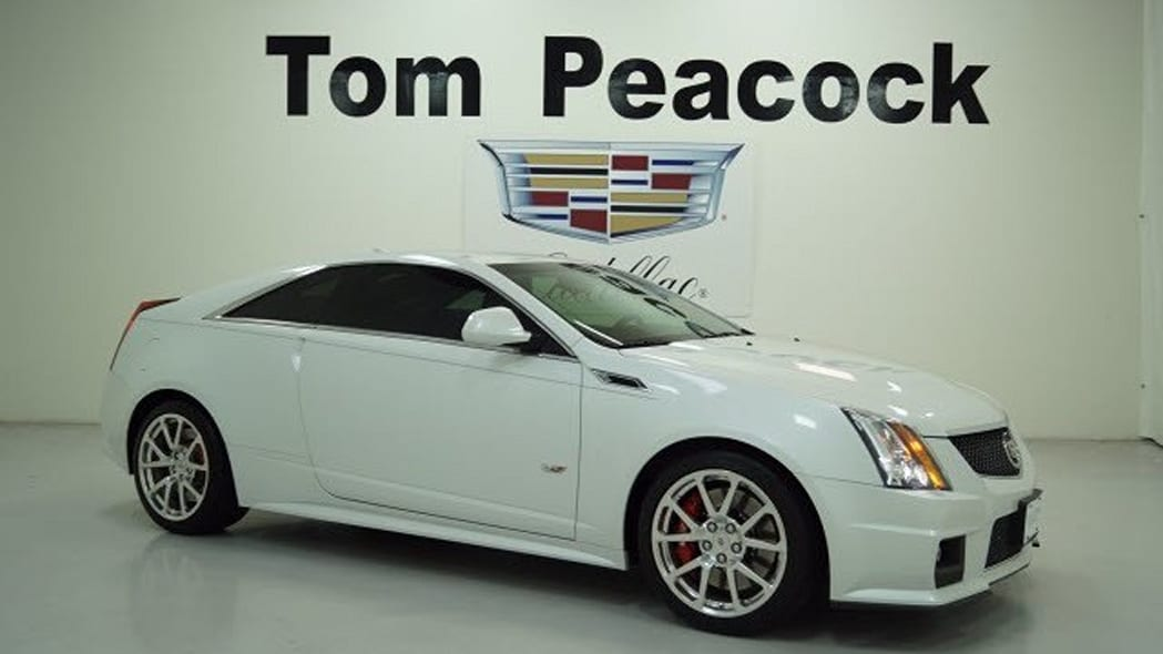 Cadillac CTS-V Coupe Certified Pre-Owned