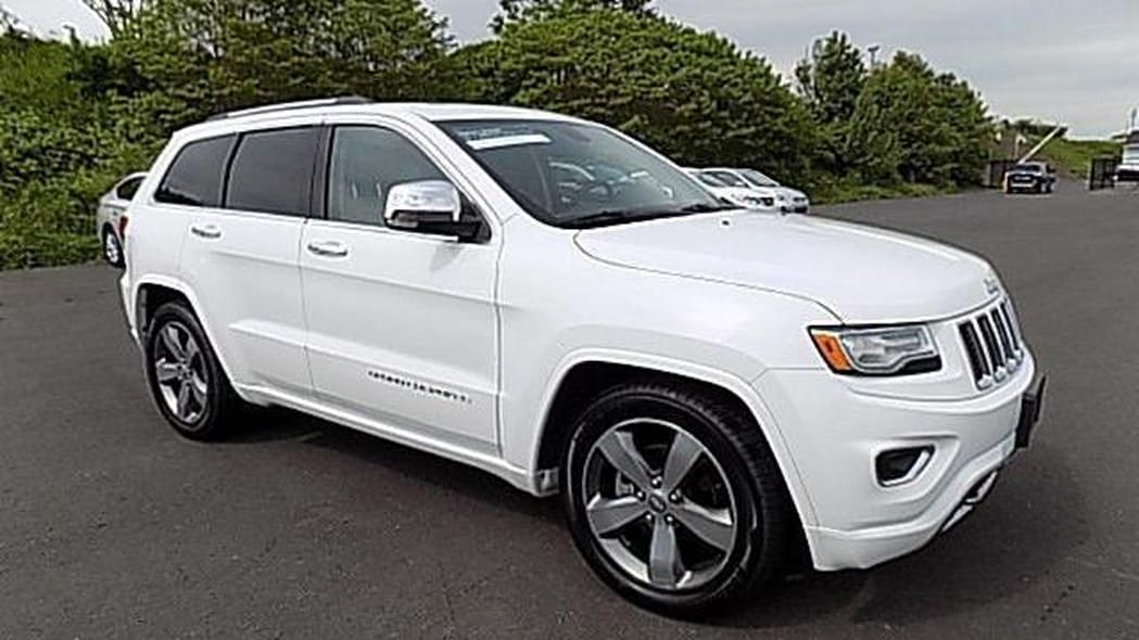 Jeep Grand Cherokee Overland Certified Pre-Owned