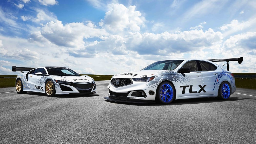 Acura TLX A-Spec and NSX