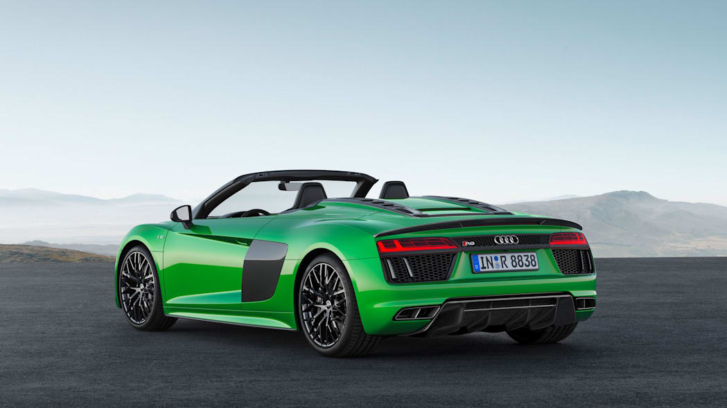 Audi R8 Spyder V10 Plus rear