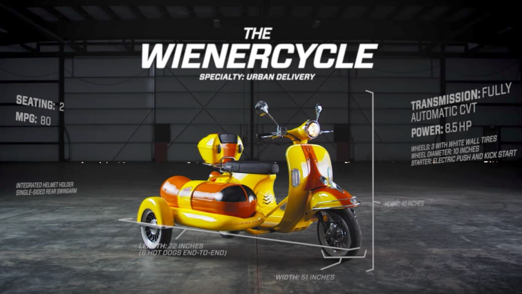 The Two-Wheeled Wienercycle