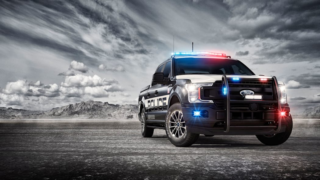 2018 Ford F-150 Police Responder front