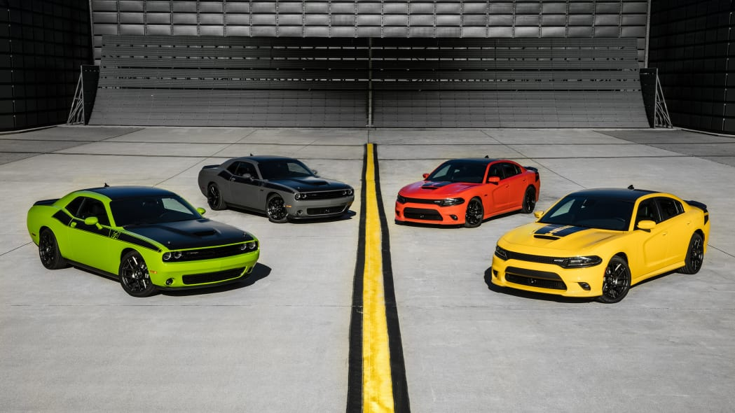Dodge Challengers and Chargers