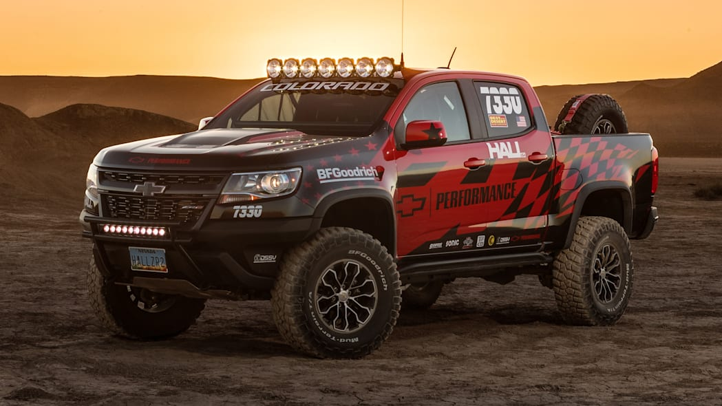 Hall Racing Chevrolet Colorado ZR2