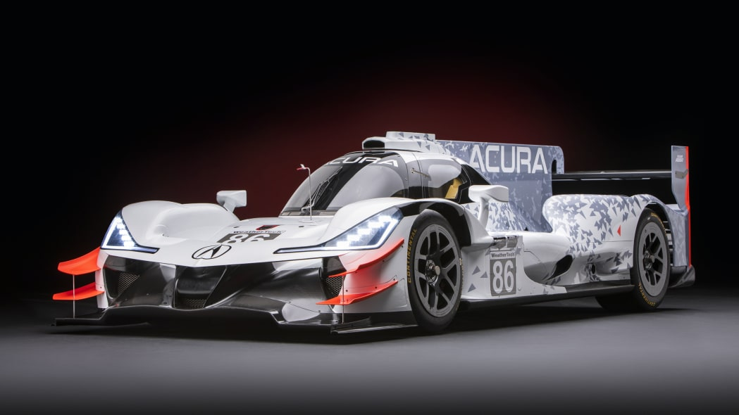 Acura ARX-05 race car