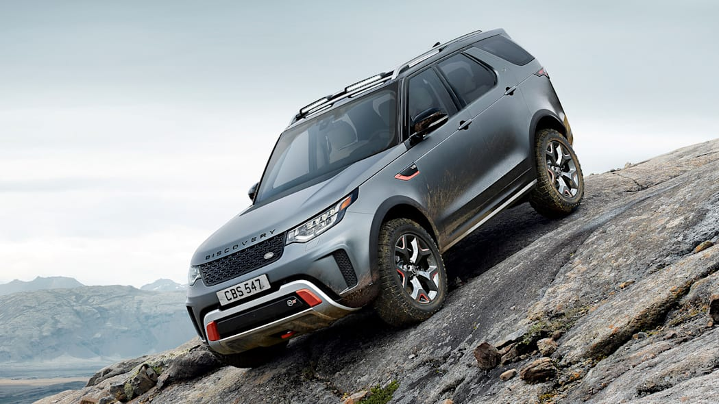 Land Rover cancels the 518-horsepower Discovery SVX