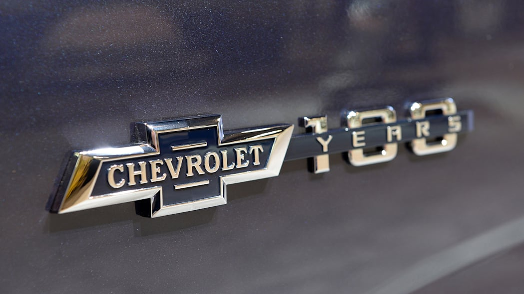 chevy centennial edition celebrates 100 years of pickups with vintage bowties