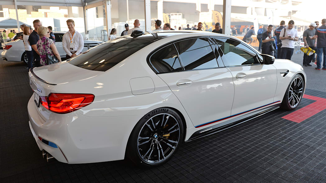 2018 bmw m5 gets invited to sema thanks to new m performance partsslide 1353063
