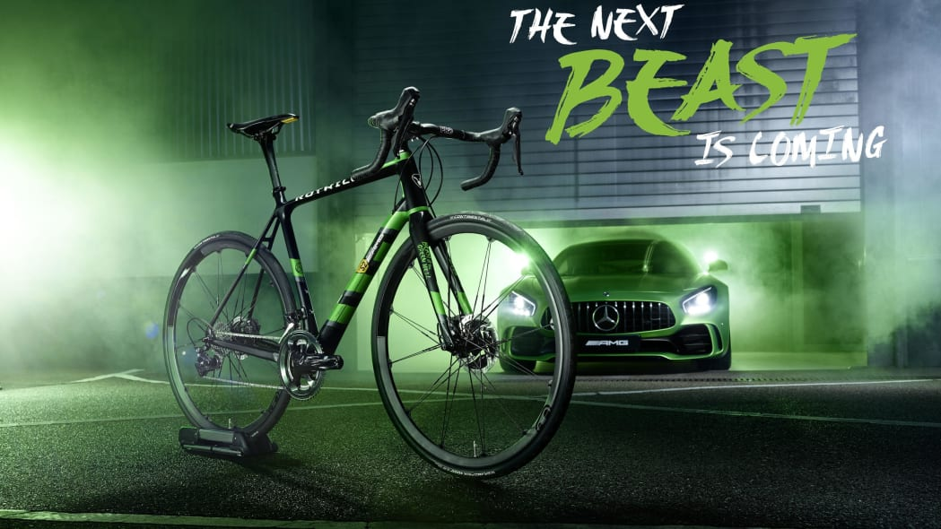 ROTWILD R.S2 Limited Edition Mercedes-AMG GT R bicycle