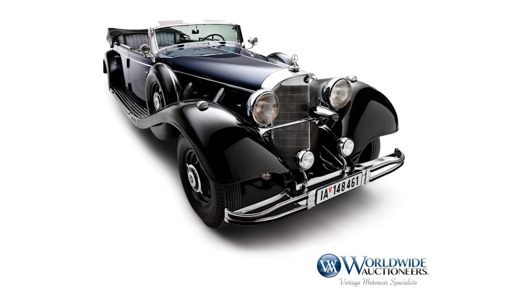 1939 Mercedes-Benz 770K Open Tourer used by Hitler