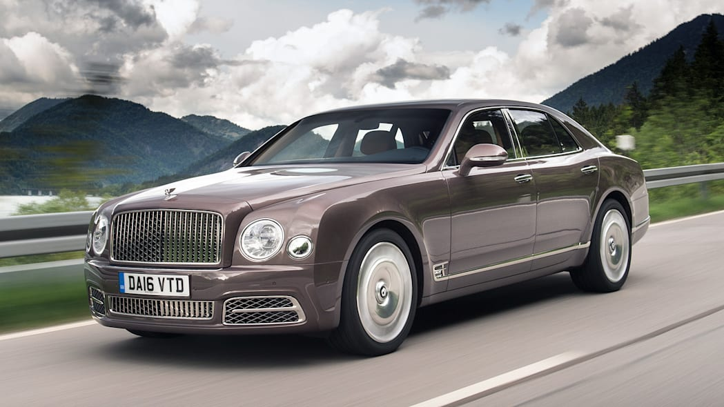 2) Bentley Mulsanne - 98 sold
