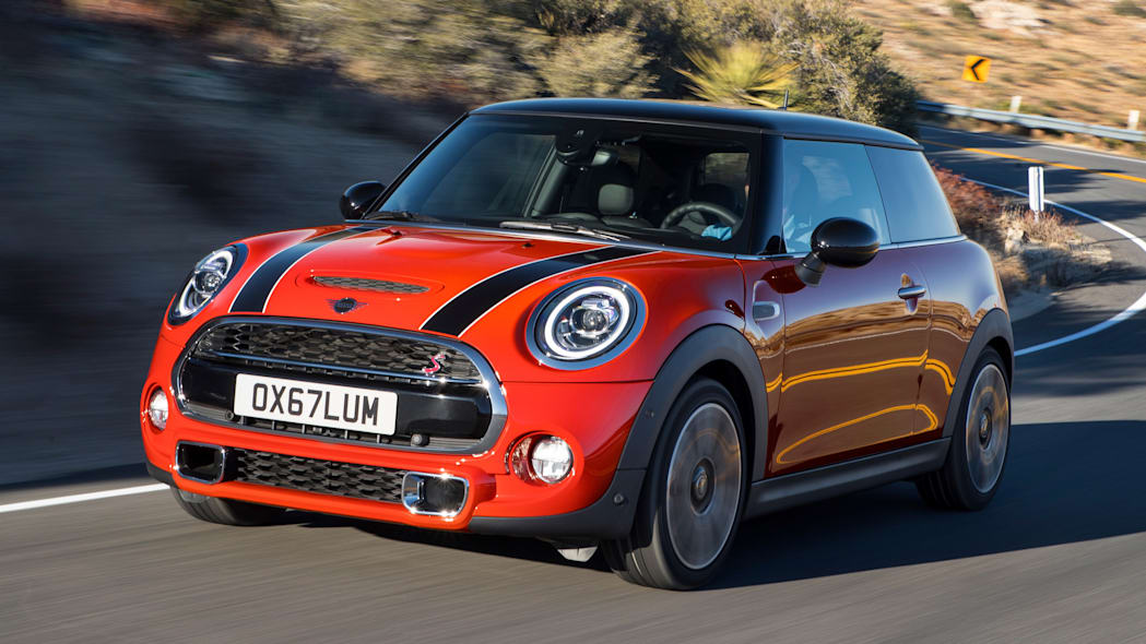 Even Mini's manual transmission take rate is only 11%