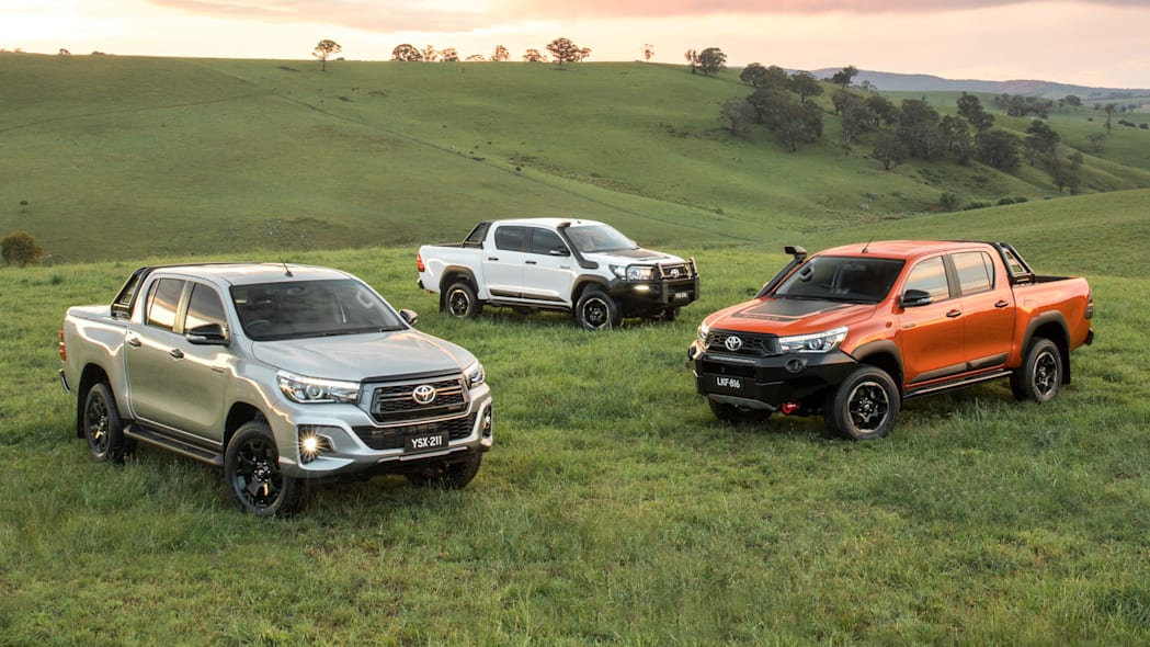 Toyota Hilux Rugged X, Rugged and Rogue