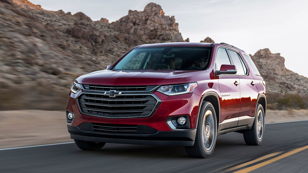2018 Chevrolet Traverse RS lead