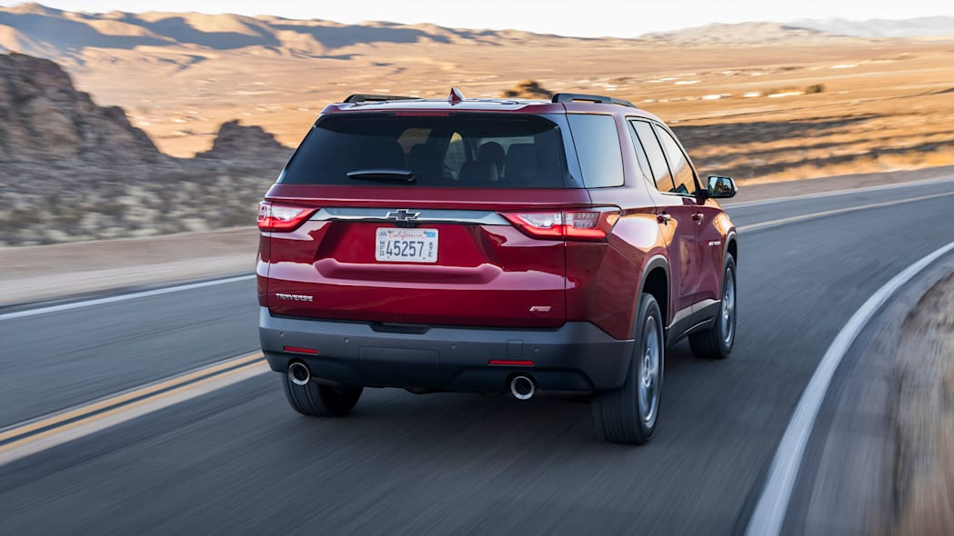2018 Chevrolet Traverse RS rear