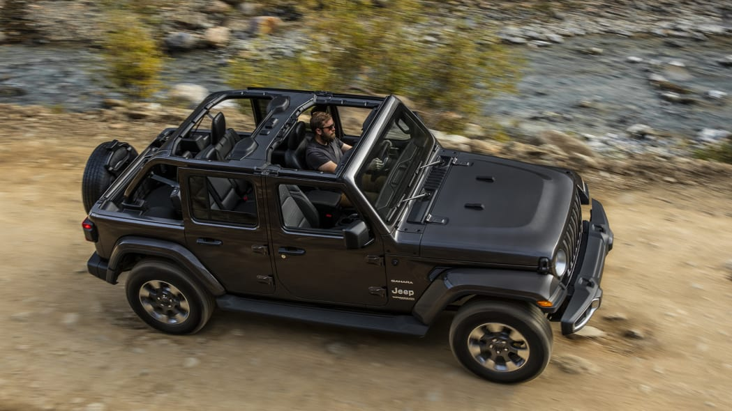 2018 Jeep Wrangler Unlimited driving off-road