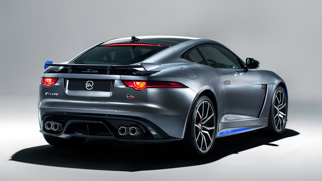 2019 Jaguar F-Type SVR 575 with optional graphics