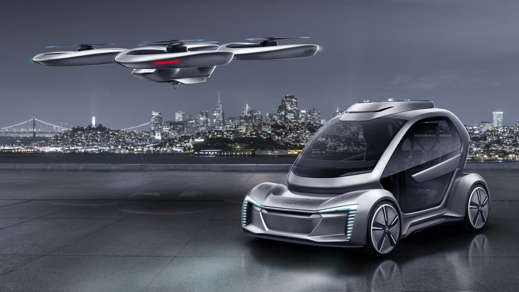 Audi, Airbus deep-six plans to develop two-in-one flying car