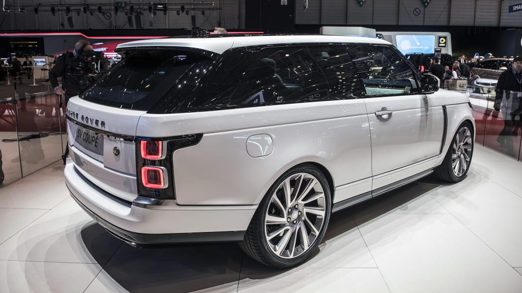 2019 Land Rover Range Rover Coupe SV