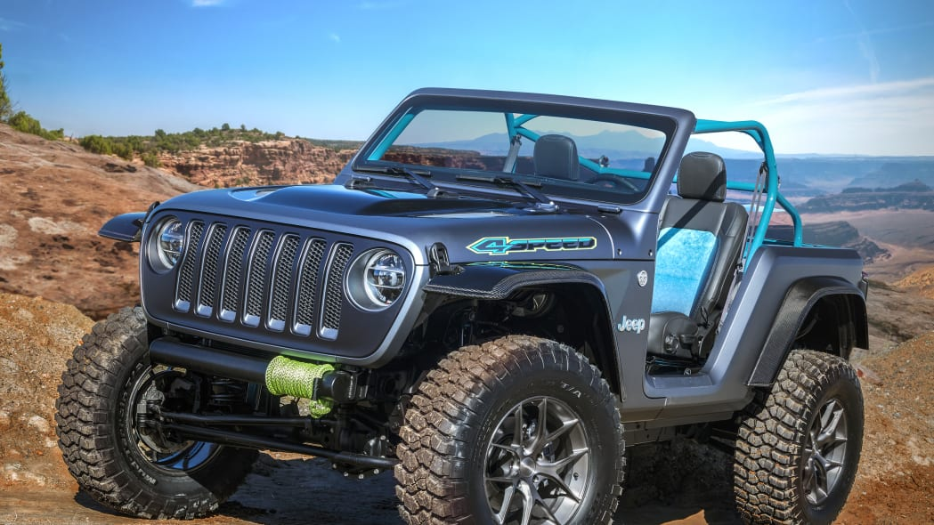 Jeep 4Speed at the 2018 Moab Easter Jeep Safari