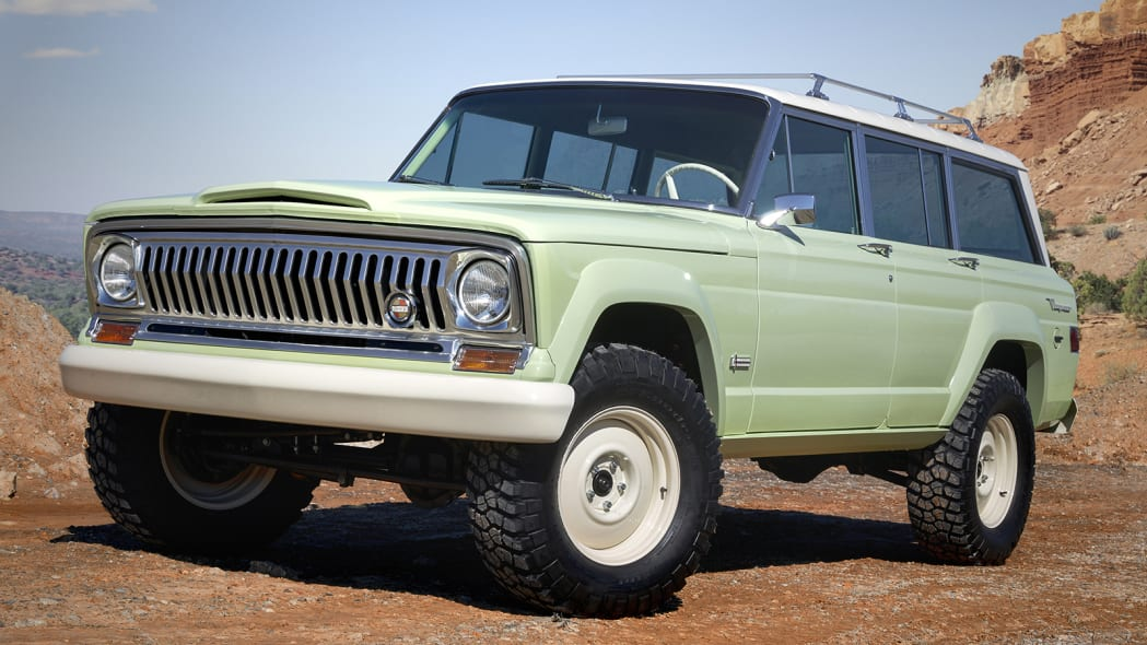 Jeep Wagoneer Roadtrip at the 2018 Moab Easter Jeep Safari