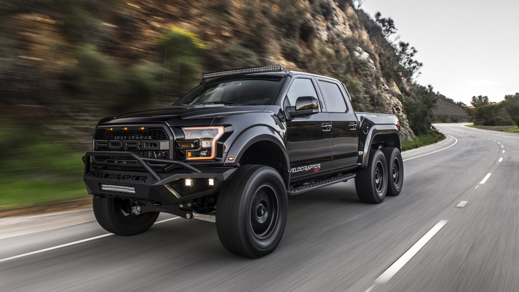 Ford Velociraptor Price >> Hennessey Velociraptor 6x6 Modified Ford F 150 Road Test