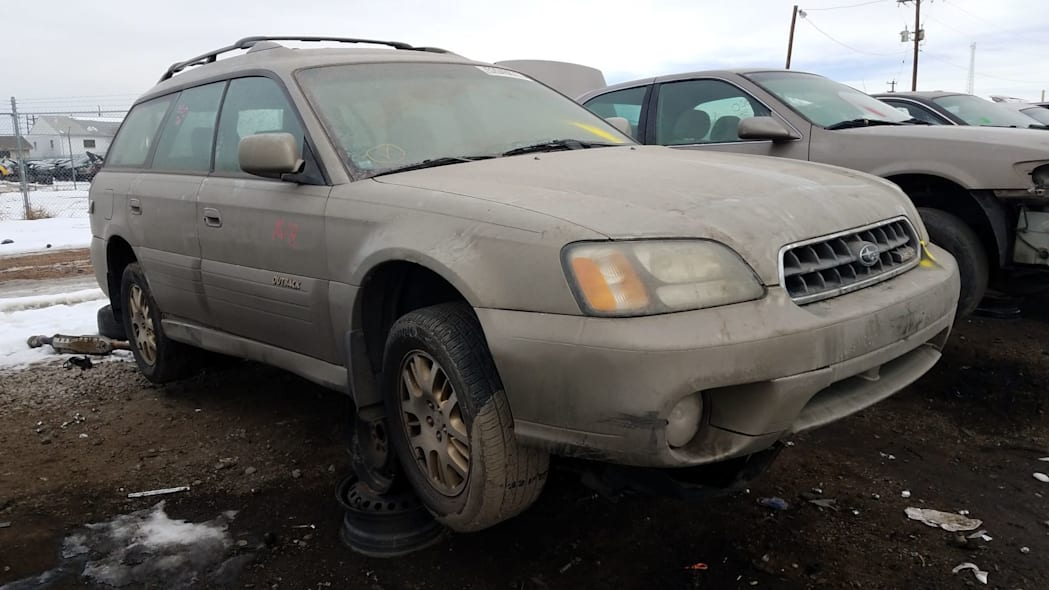 junkyard gem 2003 subaru legacy outback h6 3 0 autoblog. Black Bedroom Furniture Sets. Home Design Ideas