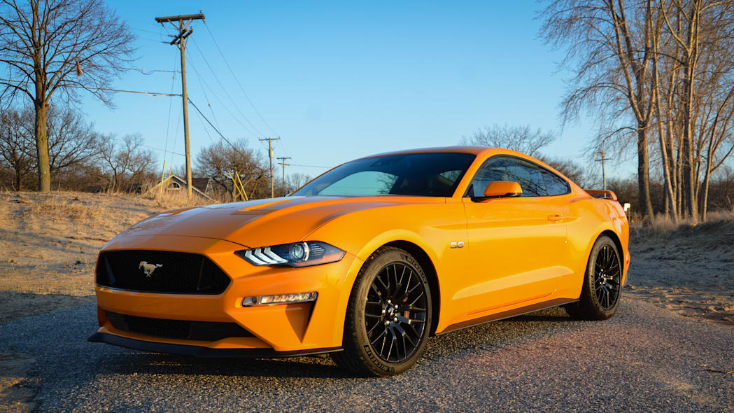 2018 Ford Mustang GT manual, automatic transmissions ...