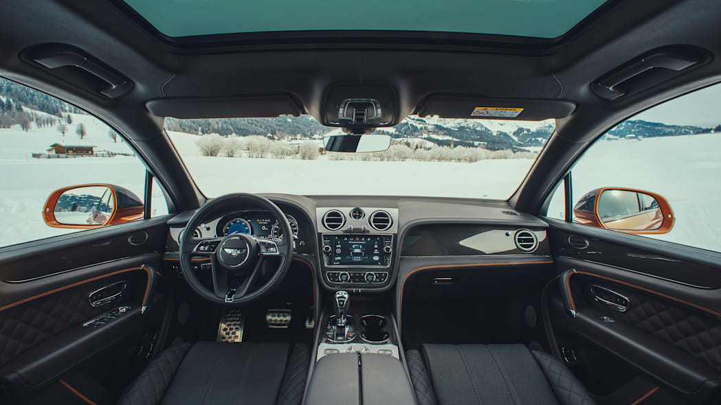 2018 Bentley Bentayga Interior