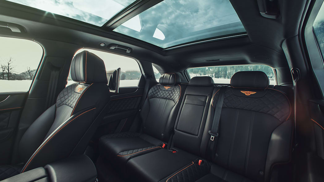 2018 Bentley Bentayga Back Seat
