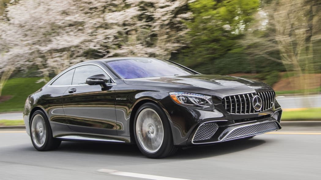 2018 Mercedes-AMG S65 Coupe and Cabriolet