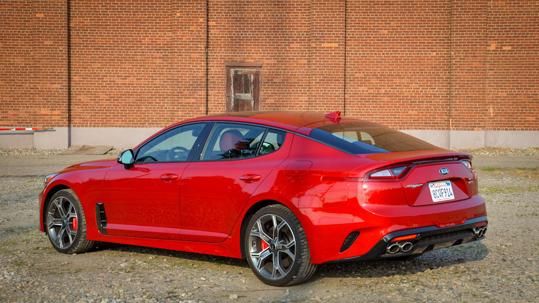 2018 Kia Stinger GT rear