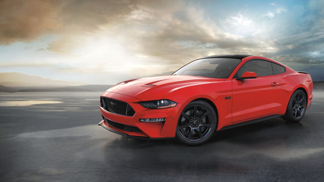 2018 Ruby Red Mustang GT Coupe