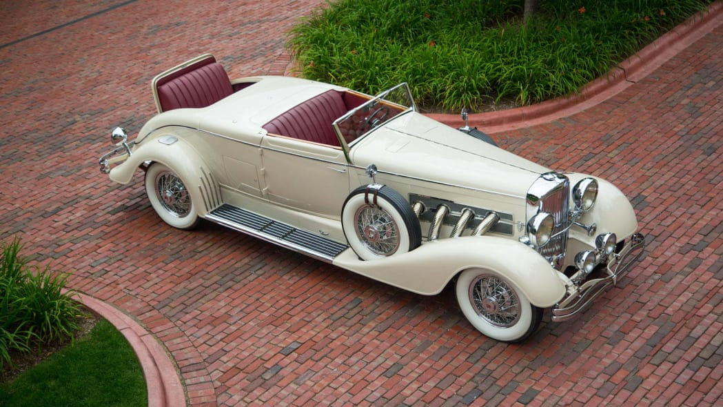 1933 Duesenberg Model J Bohman and Schwartz Convertible Victoria