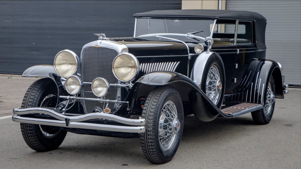 1929 Duesenberg Model J Murphy Convertible Sedan