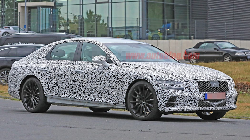 2020 Genesis G80 will not come with a V8