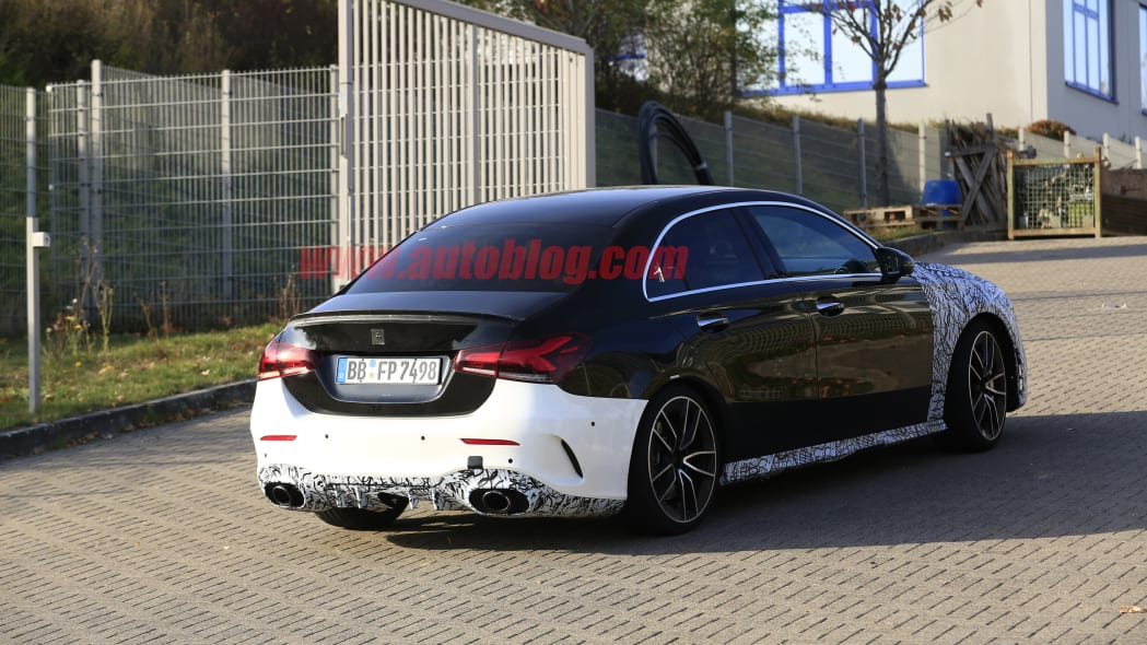 Mercedes-AMG A35 Spy Shots