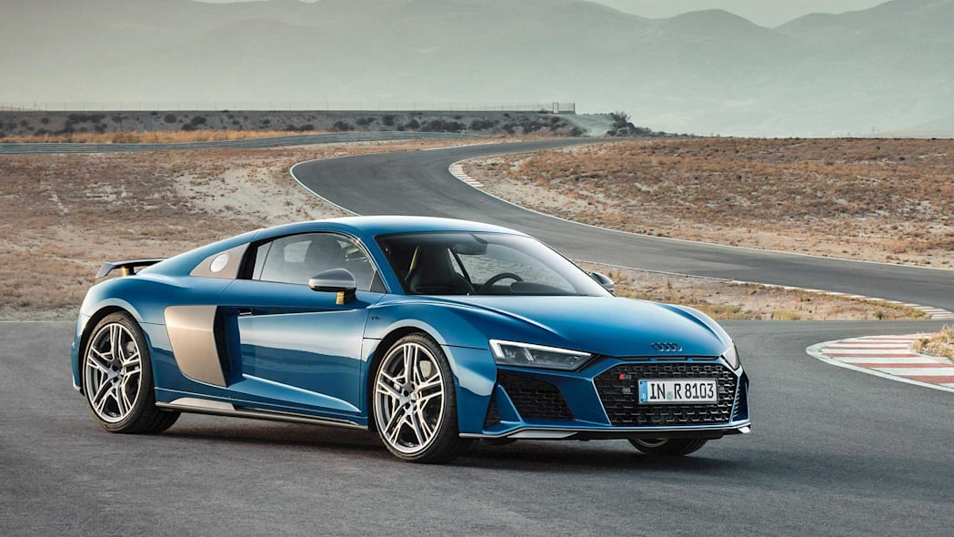 2020 Audi R8 and R8 Spyder