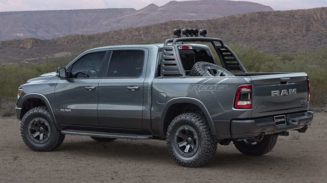 2019 Ram 1500 Low Down and Rebel concepts