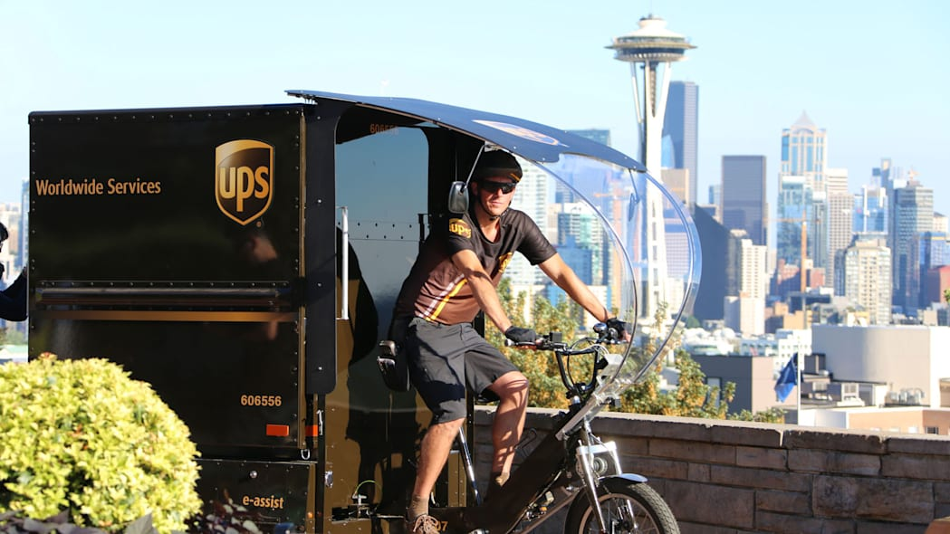 UPS eBike deliveries