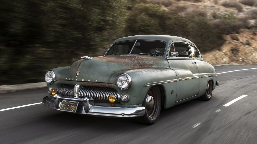 Icon Derelict 1949 Mercury Coupe is peak SEMA with an electrifying twist