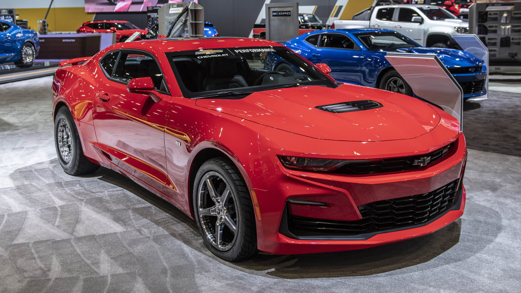 2019 Chevrolet Camaro Drag Race Car Concept