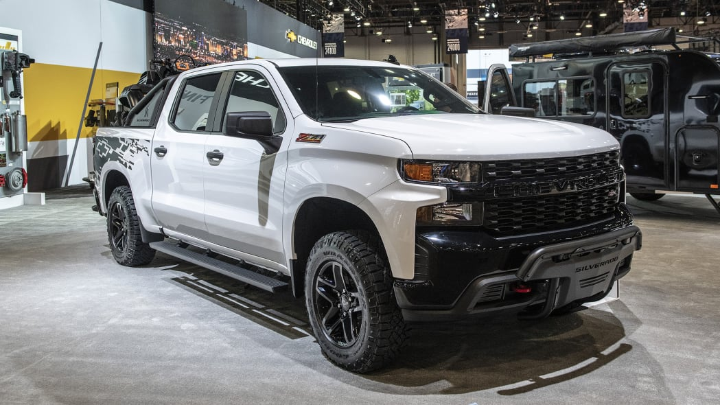 Chevrolet Silverado Customs at SEMA 2018