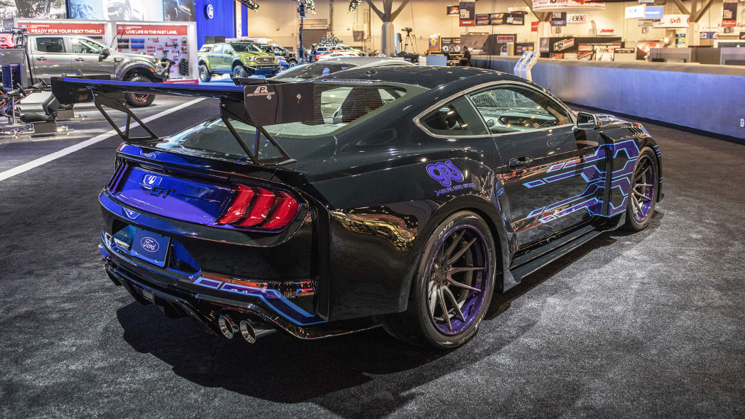 Custom Ford Mustangs at SEMA 2018