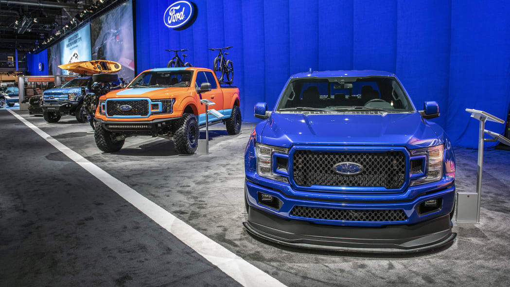 Custom Ford F-Series at SEMA 2018