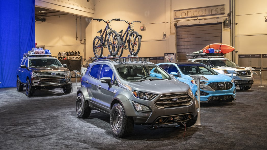 Custom Ford SUVs at SEMA 2018