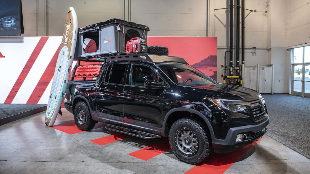 Honda Ridgeline Adventure Lifestyle Project