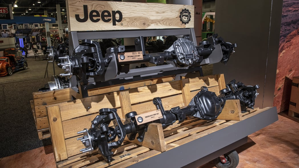 Jeep Wrangler Mopar Performance Axles