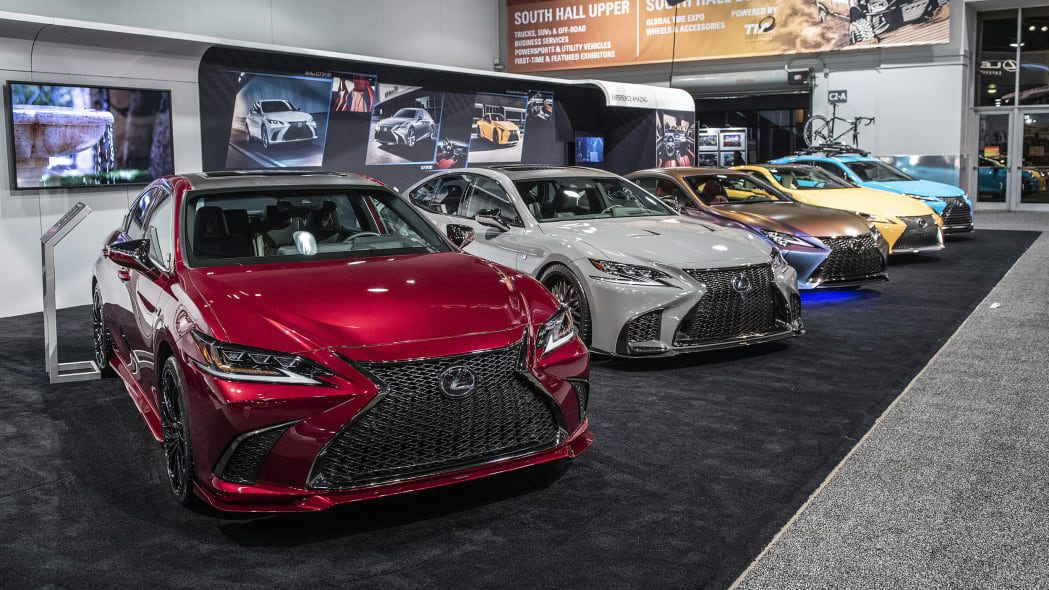 Lexus Customs at SEMA 2018